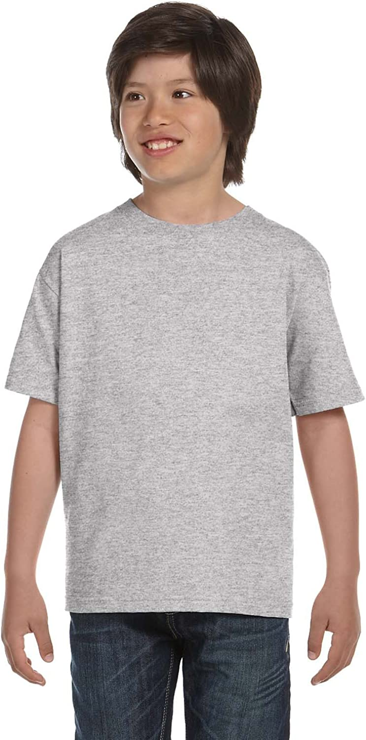 By Hanes Youth 61 Oz BEEFY-T - Light Steel - XL - (Style # 5380 - Original Label)