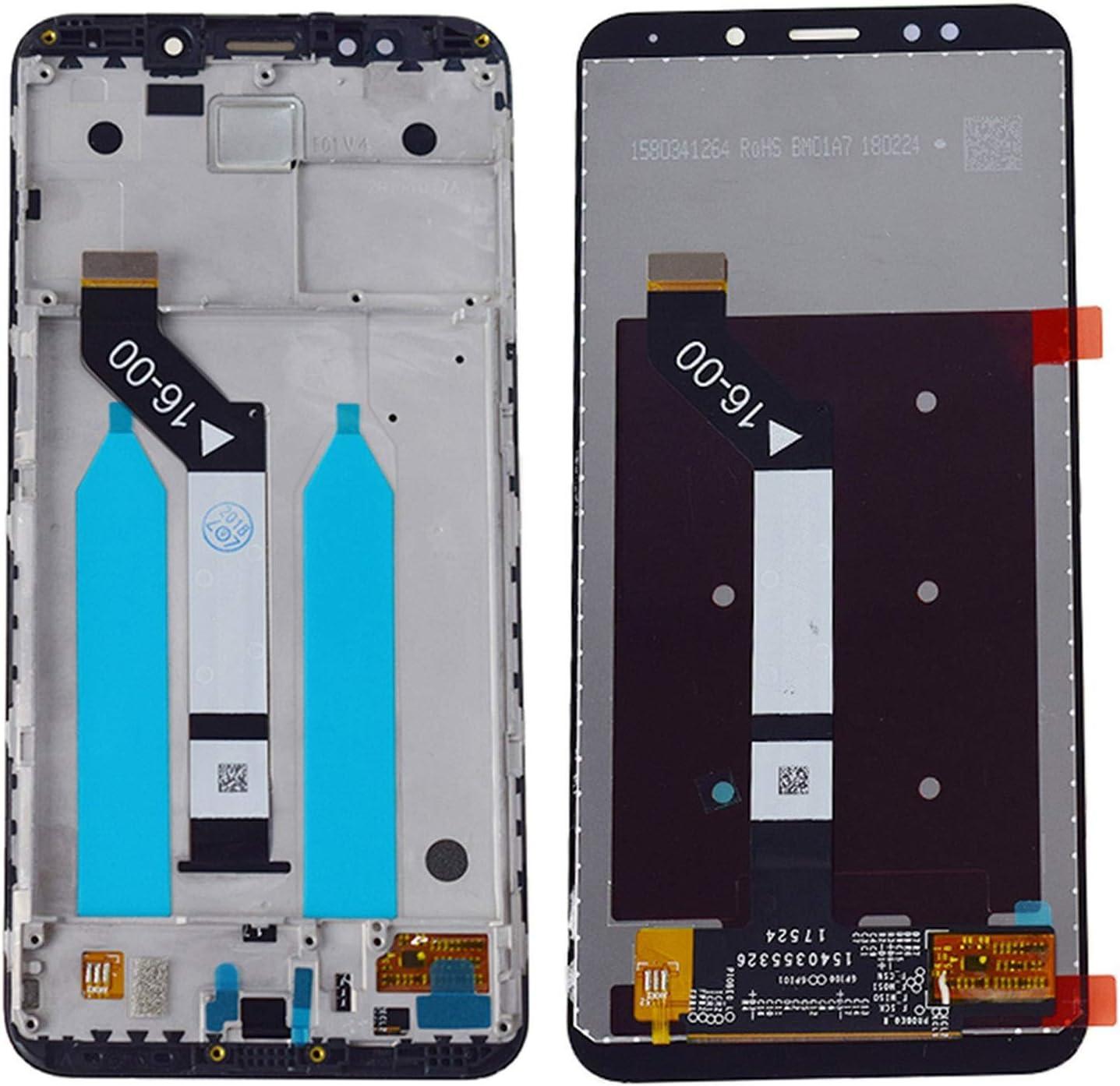Ajuste para Fit For Xiaomi Redmi 5 Plus Pantalla LCD Pantalla Táctil Digitalizador del Sensor del Digitalizador Ajuste para Fit For Xiaomi Redmi 5PLUS LCD Touch Touch Frame 10 Touch