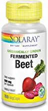 Solaray Organically Grown Fermented Beet Root 500mg 100 Vegcaps 96072 Estimated Price : £ 17,75