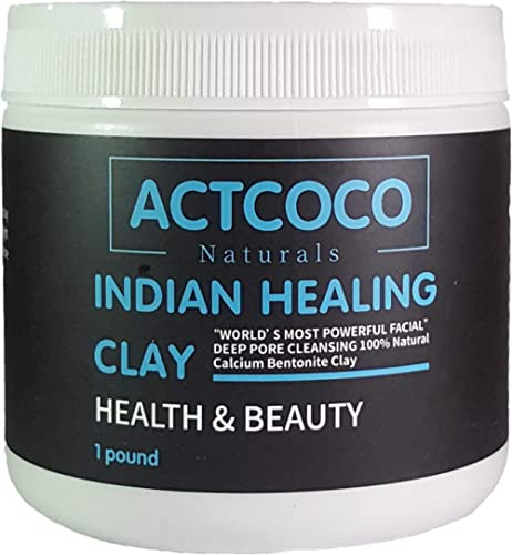 Actcoco Indian Healing Clay Deep Pore Cleansing, 1 Pound