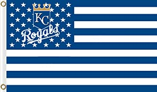 Five Star Flags New Kansas City Royals Flag, Royals Flag, Flag for Indoor or Outdoor Use, 100% Polyester, 3 x 5 Feet.
