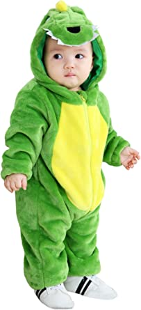TONWHAR Infant And Toddler Halloween Cosplay Costume Kids' Animal Outfit Snowsuit