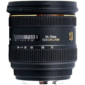 Sigma 24-70mm f//2.8 IF EX DG HSM AF Standard Zoom Lens for Canon Digital SLR Cameras