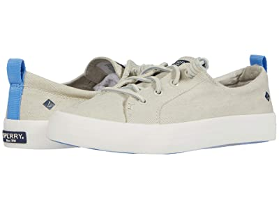 Sperry Crest Vibe Washed Twill (White) Women