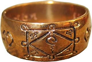 EZSHINE Miracle Blessed Magic Luang Phor Kuay Ring Powerful Charm Magician Protective Amulets