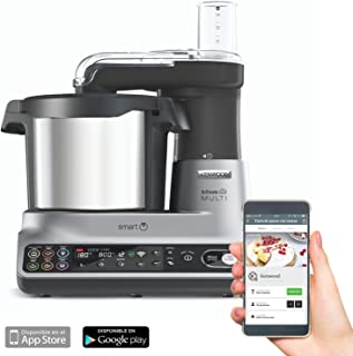 Kenwood 凯伍德 CCL450SI kCook 多功能智能厨房料理机,带600 + 免费食谱,智能秤,1500瓦,容量高达10人
