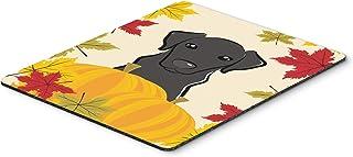 Caroline's Treasures Black Labrador Thanksgiving Mouse Pad, Hot Pad or Trivet, Multicolor (BB2041MP)