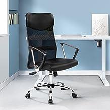 Artiss Adjustable High Back Executive Mesh Chair Computer Desk Office Home