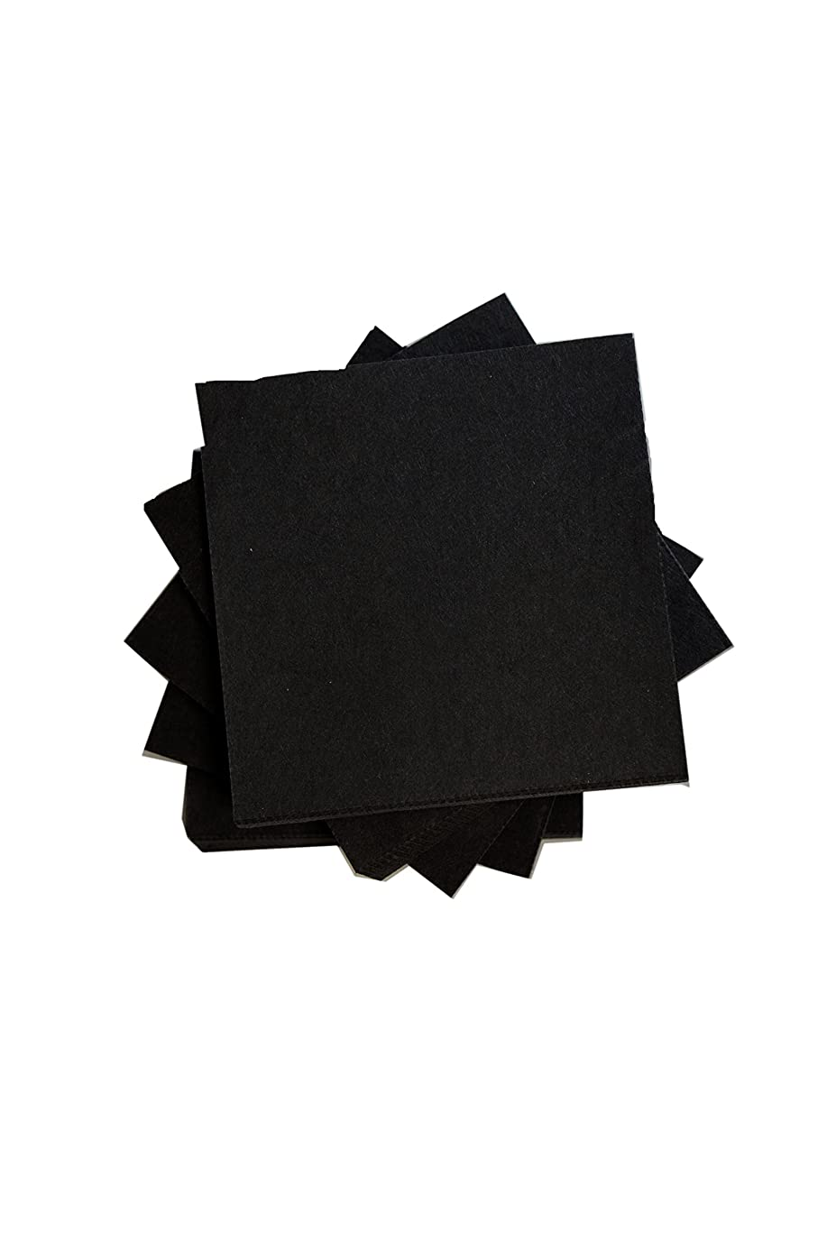 Exquisite B41866 Heavy Cutaway Embroidery Backing, Black