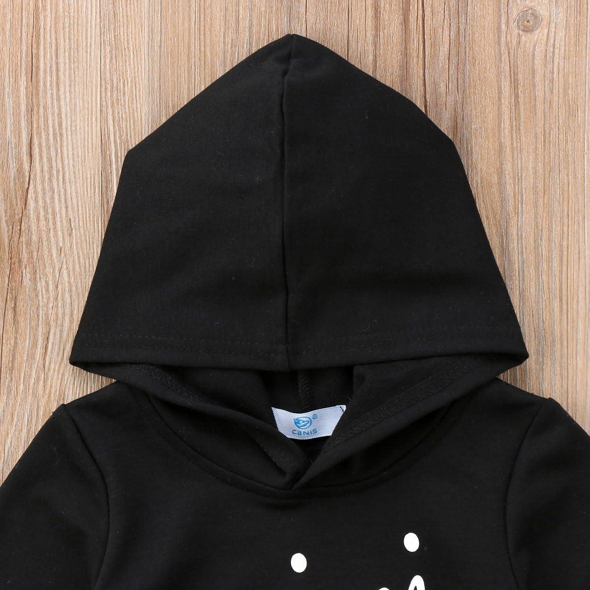 Kids Baby Girls Little Girls Boys Mini Boss Hoodie Sweatshirt Long Sleeve Casual Hooded Tops