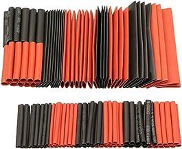 Lasamot 127 peças 2:1 tubo termorretrátil W-rap kit sortido portátil