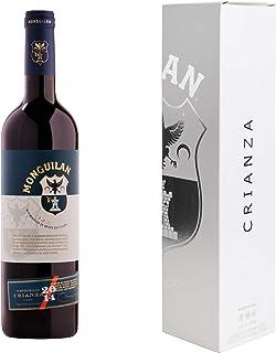 Monguilan vino tinto Rioja Crianza 2014 750 ml con estuche-caja