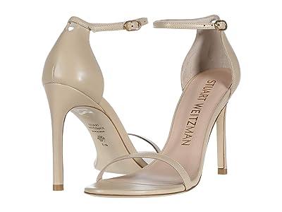 Stuart Weitzman Nudistsong Ankle Strap Sandal (Bambina Dress Nappa) Women