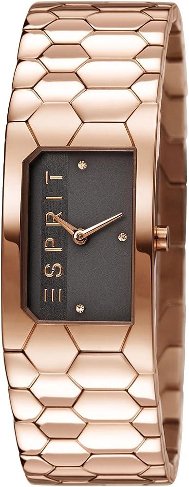 Esprit,orologio per donna,in acciaio inossidabile rose gold ES107882003
