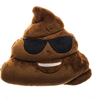 Poop Limited Emojicon Pillows (Poop Sunglasses)