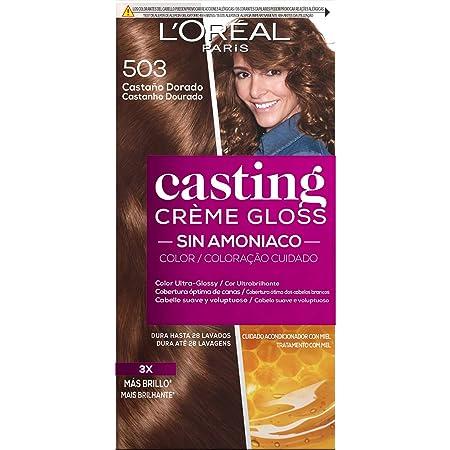 LOreal Paris Casting Crème Gloss Coloración Sin Amoniaco Casting Creme Gloss 203, Coloración Permanente, Gold Choco - 1 Coloración Permanente
