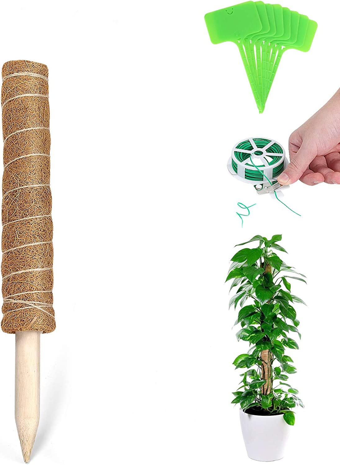 UPMCT Moss Industry No. 1 Pole Plant Support Extendable Extension 12 Inches Co latest