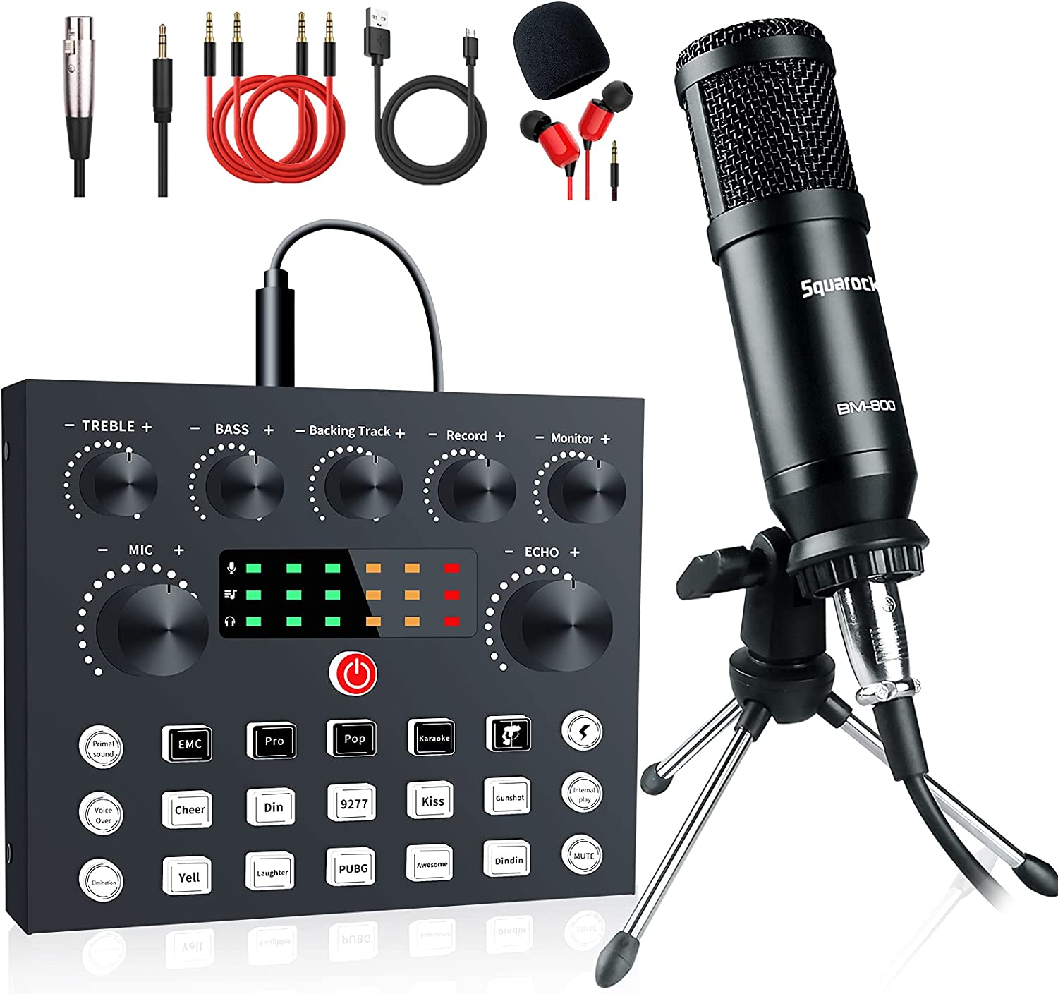 Podcast Equipment Bundle Live Streaming with Interface Nippon regular agency Classic DJ Audio