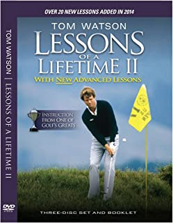 Tom Watson Lessons of a Lifetime II - Three Discs and Booklet (2014)