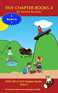 Five Chapter Books 4: Sound Out Books for Learning to Read (Step 4) (DOG ON A LOG Chapter Book Collection)