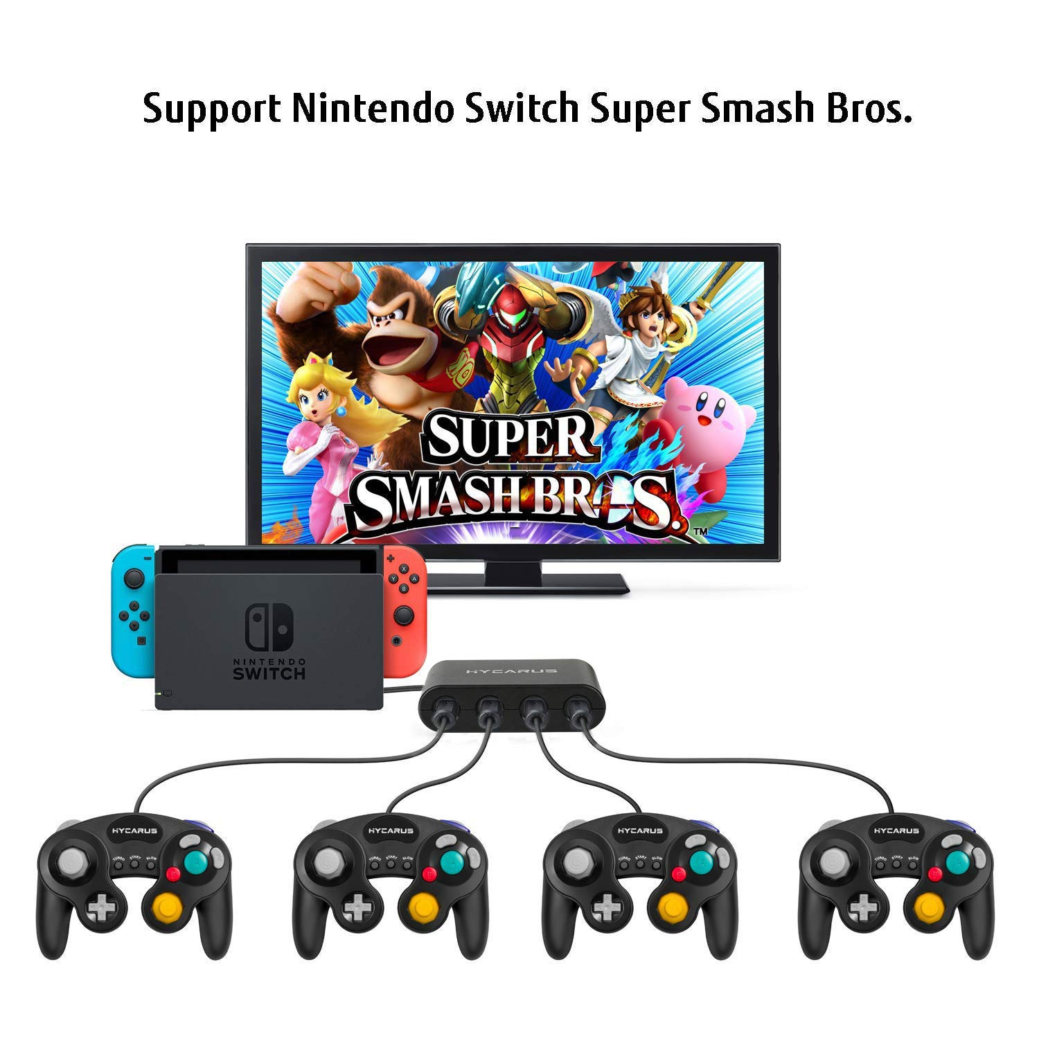 GameCube Adapter, GameCube Controller Switch Switch con Turbo y ...