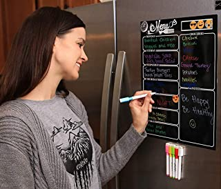 """Magnetic Dry Erase Meal Planner by OacisLife 