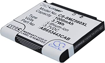 Cameron Sino 1000mAh / 3.70Wh Battery Compatible with Samsung SGH-A700, SGH-A707, SGH-A171, SGH-A727, SGH-Z560, SGH-Z560V, SGH-Z568 and Others