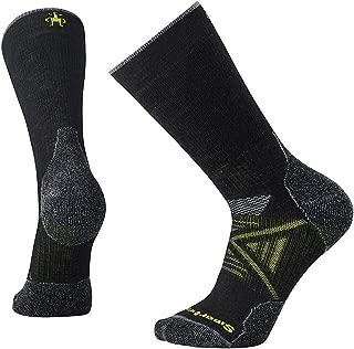 PhD Outdoor Medium Crew Sock - Medium Cushioned Merino Wool Performance Sock for Men and Women