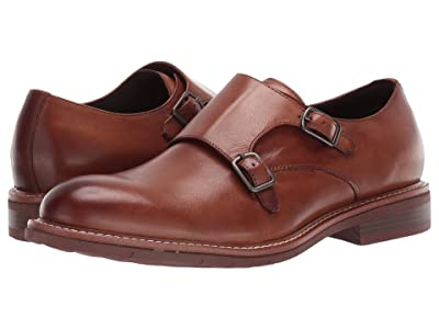 Kenneth Cole Reaction Klay Flex Monk (Cognac) Men
