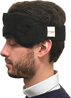 Rimedio - masque de gel rafraîchissant, bandeau anti-migraine pour soulagement naturel des douleurs : mal de tête/sinus/cé...