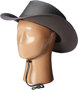 Mesh Covered Safari with Chin Cord