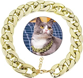 Legendog Dog Neck Chain Pet Chain Collar Fashion Cool Plastic Pet Chain Necklace for Cat Dog
