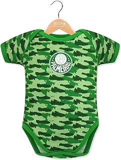 Rêve D'or Sport - Body Camuflado Palmeiras, G, Verde