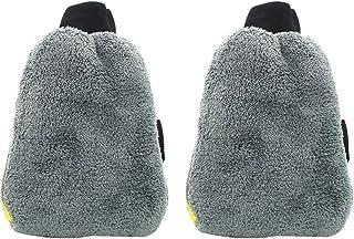 RuleaxAsi 1# 2PC Microfiber Multifunctional Car Wash Mitt Anti Scratch Wash Glove