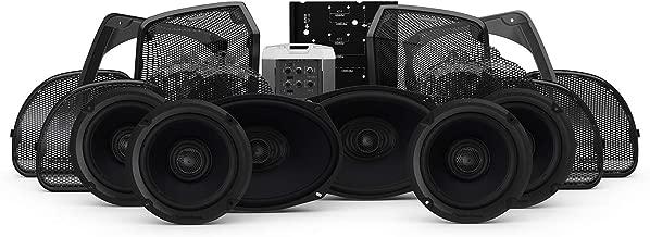 Rockford Fosgate HD14U-STAGE3 Six Speakers & Amplifier Kit for 2014+ Harley-Davidson Road Glide Ultra & Street Glide Ultra