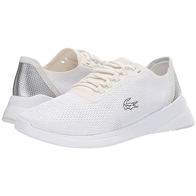 Lacoste LT Fit 318 1 (White/Silver) Men