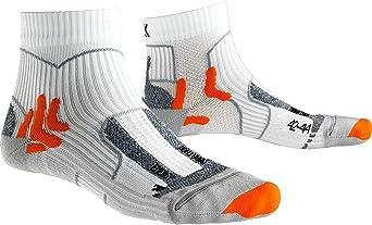 X-Socks Marathon Energy sokken, uniseks, volwassenen, wit/oranje
