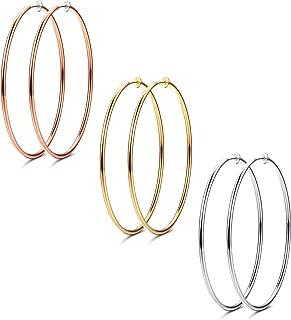 Best 6 inch hoop earrings Reviews