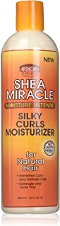 African Pride Shea Miracle Silky Curls Moisturizer 12 Ounce (354ml)
