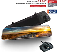 Best rear view mirror dash cam manual Reviews