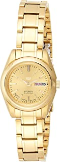 SEIKO Women's Automatic Watch, Analog Display and Stainless Steel Strap SYMK20J1