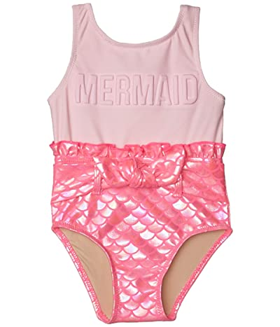 shade critters Mermaid Scaley One-Piece Suit (Infant/Toddler) (Pink) Girl