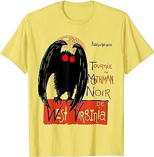 Mothman Point Pleasant West Virginia Cryptid Figure T-Shirt