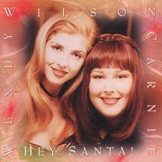 wendy and carnie wilson hey santa
