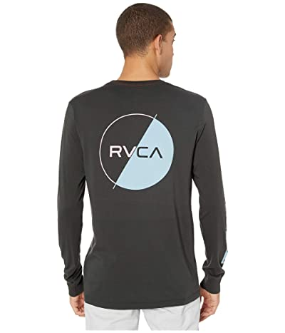 RVCA Lateral Long Sleeve T-Shirt (Pirate Black) Men