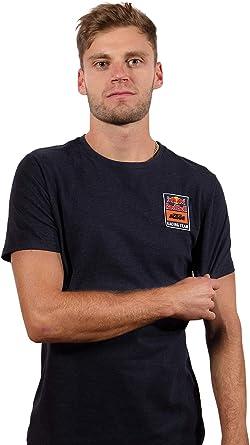 Red Bull KTM Patch T-Shirt, Camisa Manga Corta, KTM Factory Racing Original Ropa & Accesorios