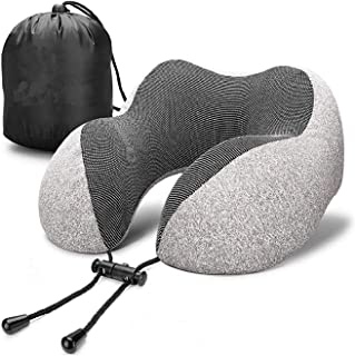 Neck pillow Memory Foam Pillow Breathable Comfortable Airplane Travel Pillow Washable Ergonomic Design Car Neck Pillow Sof...