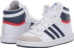 White/Dark Blue/Power Red