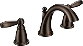 Moen T6620ORB Brantford Two-Handle 8 in. Widespread Bathroom Faucet Trim Kit, Valve Required, Oil-Rubbed Bronze