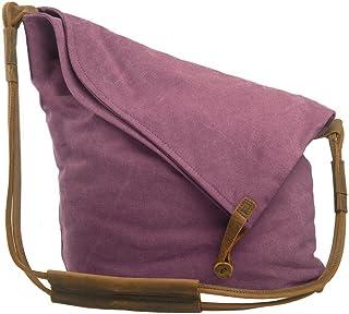 Canvas Tasche, P.KU.VDSL Crossbody Tasche Damen Schultertasche Canvas Umhängetasche Damen Crossbody Bag Mädchen Shoulder B...